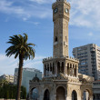 Clock tower from Izmir - Stock Photo