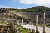 Ancient ephesus theater — Stock Photo