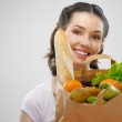 Bag of food — Stock Photo #5737879
