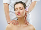 Massaged — Stock Photo