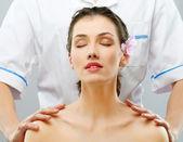 Massaggiato — Foto Stock