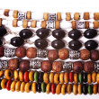 Esoteric beads closeup — Stock Photo