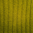 Texture of green knitted wool sweater - Stock Photo