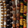 Group of Ethnic esoteric beads — Stock Photo