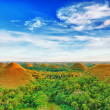 Chocolate Hills — Stock Photo #5442389