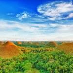 Chocolate Hills — Stock Photo