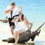 tropik düğün — Stok fotoğraf