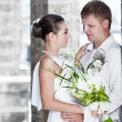Bride and groom — Stockfoto #5483296