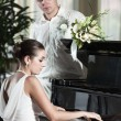 Playing piano — Stock Photo #5483323