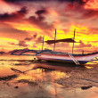 Boat at sunset - Foto de Stock
