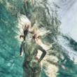 Stock Photo: Underwater fairy tate