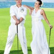 Wedding golf — Stock Photo #6023247