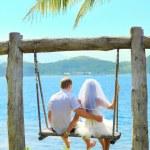 Tropical wedding — Stock Photo