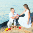 Offer of marriage - Foto Stock