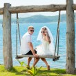 Tropical wedding — Stock Photo #6425374