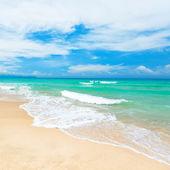 Kumlu plaj — Stok fotoğraf