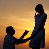 Offerta di matrimonio — Foto Stock