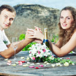 Wedding table — Stock Photo #6714764