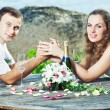 Wedding table - Stockfoto