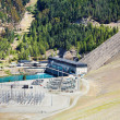 Lake Benmore hydroelectric dam, New Zealand — Stock Photo #5401941