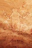 Rock paintings of Tassili N'Ajjer, Algeria — Stok fotoğraf