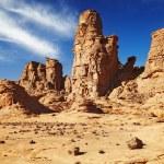 Sahara Desert, Tassili N'Ajjer, Algeria — Stock Photo #5754721