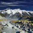 Stock Photo: Mountain landscape, New Zealand