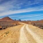 Road in Sahara Desert — Stock Photo