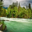Mountain river Kucherla — Stock Photo
