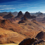 hoggar 山阿尔及利亚 — 图库照片