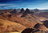 Hoggar mountains, Algeria — Stock Photo