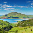 Coastal view, New Zealand — Stock fotografie