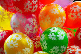 Colourful air balloons. — Stock Photo