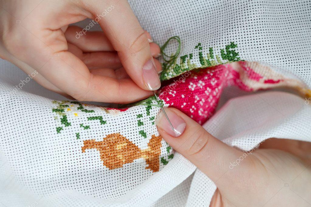 Техники шитья на руках