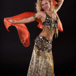 Belly dancer. — Stock Photo