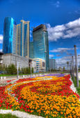 Scyscrapers Astana. — Stock Photo