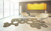 Design of lounge room — Stock Photo