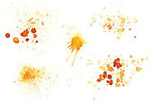 Coffee stains — Stock Photo