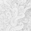 Abstract seamless pattern waves — Stok Vektör