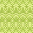 Seamless green pattern in vector — 图库矢量图片