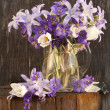 Bouquet of spring flowers — Stockfoto