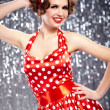 Stock Photo: Pin-up girl. American style