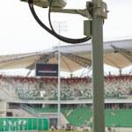 Security-camera on stadium — Stock Photo #6471366