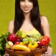 Fruits and vegetables shopping — Stock Photo #6510104