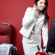 Woman in the office — Stock Photo #6561343