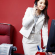 Woman in the office — Stock Photo