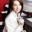 Woman in the office — Stock Photo #6561831