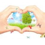 Постер, плакат: Symbol of the environment