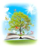 Magiczne książki. — Zdjęcie stockowe