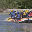Royalty-Free Stock Photo: Rafting